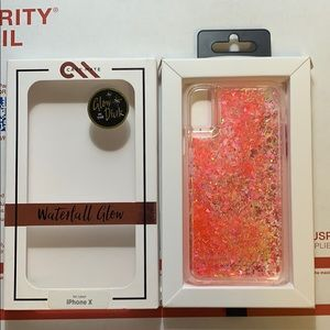Casemate IPhone 10/X glow waterfall case new